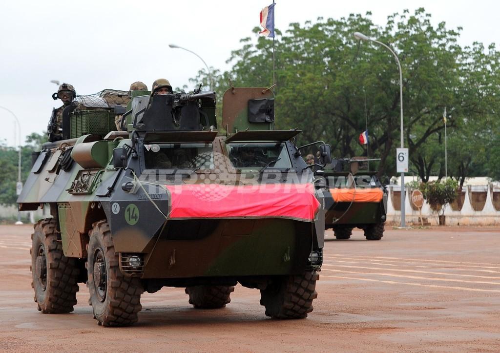 フランスとアフリカ連合、中央アフリカへの派遣部隊を増強