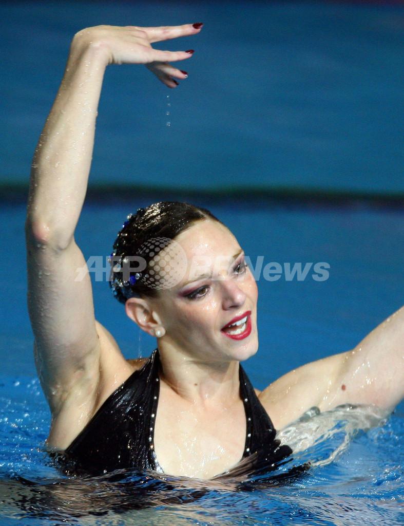 <第12回世界水泳選手権>シンクロナイズドスイミング、デデュー ソロ・フリールーティン予選でトップに - オーストラリア