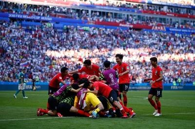 【写真特集】終盤の2得点で前回王者を撃破、韓国対ドイツ