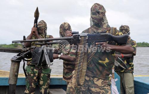 国際ニュース:AFPBB Newsナイジェリア武装勢力、シェルのパイプラインを破壊
