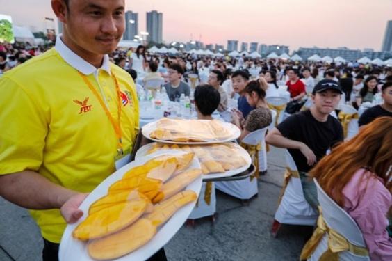 タイのデザート「マンゴー添えたもち米」、中国人観光客数千人に