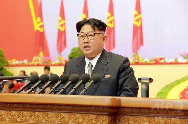 北朝鮮、核戦力を拡大へ 労働党大会が公式採択