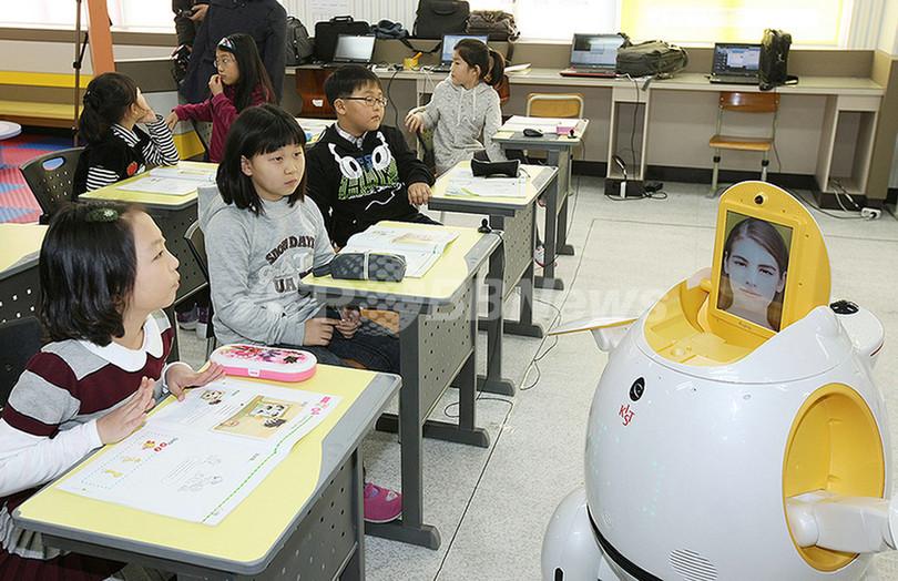 英語の先生はロボット、韓国の小学校で試験運用