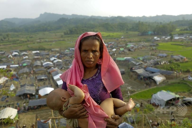 バングラに避難のロヒンギャ、25万人超に 国連発表