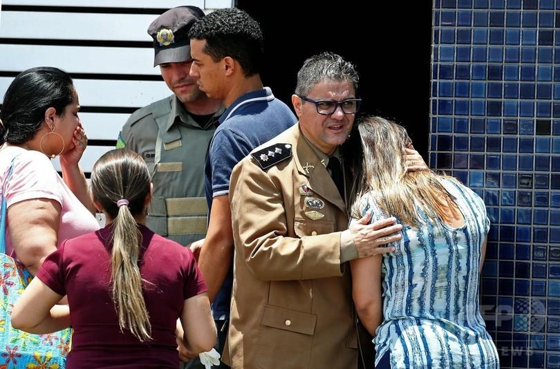 いじめ受けた男子生徒が学校で発砲、2人死亡4人負傷 ブラジル