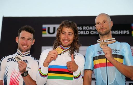 サガンが男子ロードレースで連覇達成、ロード世界選手権