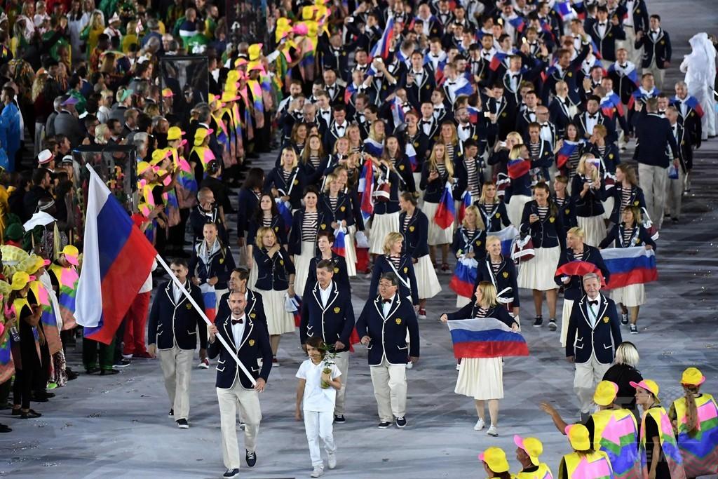 リオ五輪のロシア選手団276人に、競泳5人出場可能に