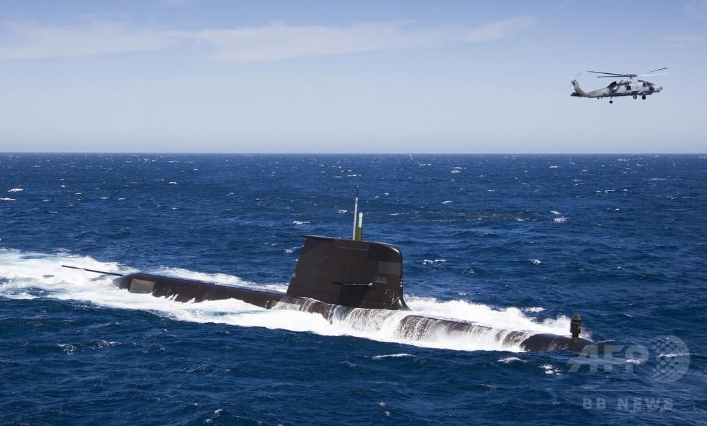 豪潜水艦の共同開発、仏が受注 日本は落選