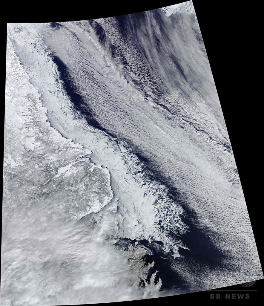 北極圏で冬季の最高気温記録 例年を30度上回る