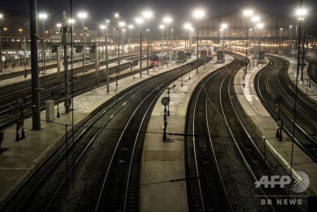 【今日の1枚】ストライキに揺れるパリ北駅