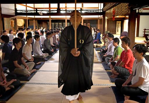 禅寺で修行しながらプログラミング、鎌倉市で「禅ハック」開催