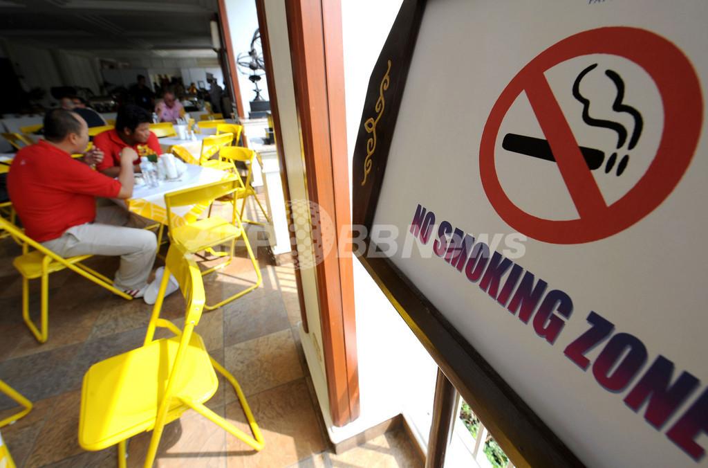 タイのバーで一服「アウト」、11日から全面禁煙も店側は効果疑問視