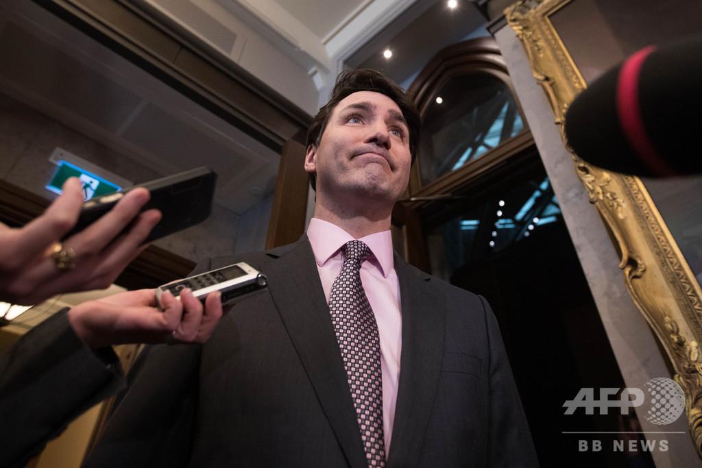トルドー政権から司法介入圧力、カナダ前司法長官が証言 野党は警察の捜査要求