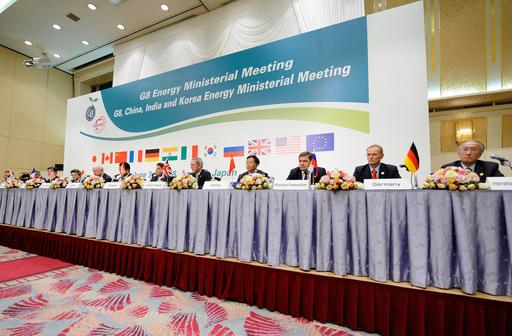 G8エネルギー相会合、CO2地下貯留計画に着手で合意