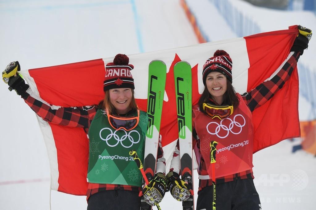 セルワが女子スキークロスで金、カナダ勢がワンツー 平昌五輪