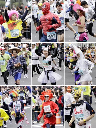 男子はキプサングが優勝 前田が2位、東京マラソン