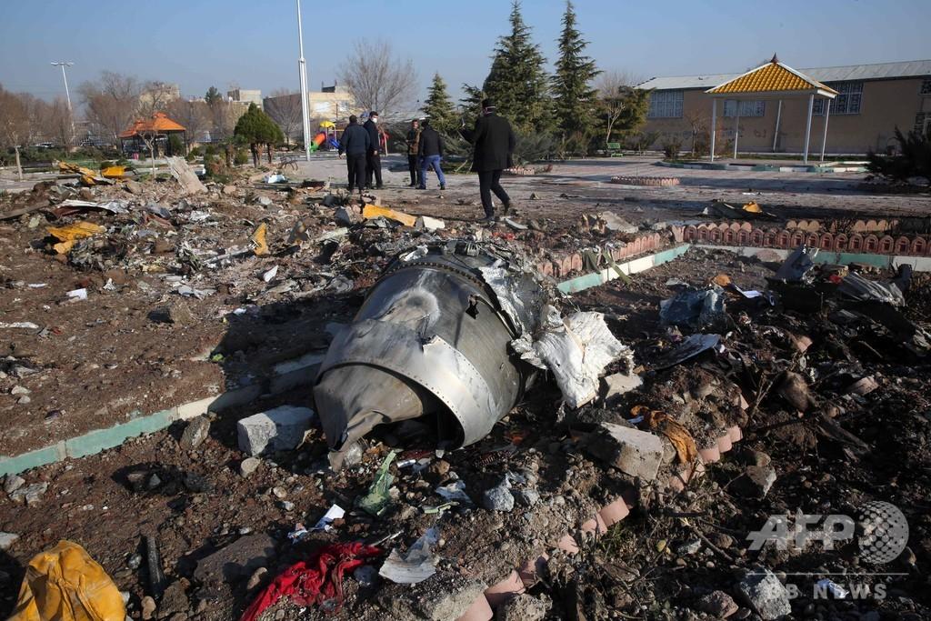 イラン、「許されないミス」でウクライナ機を撃墜と発表