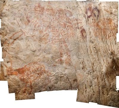 「世界最古の具象画」 4万年前の洞窟壁画、最新年代測定