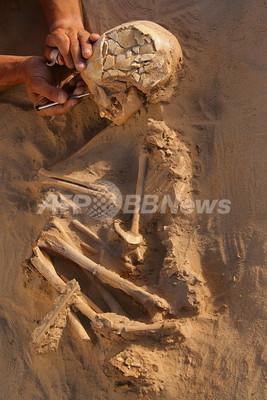 サハラ砂漠から石器時代最大級の埋葬地、米研究チーム