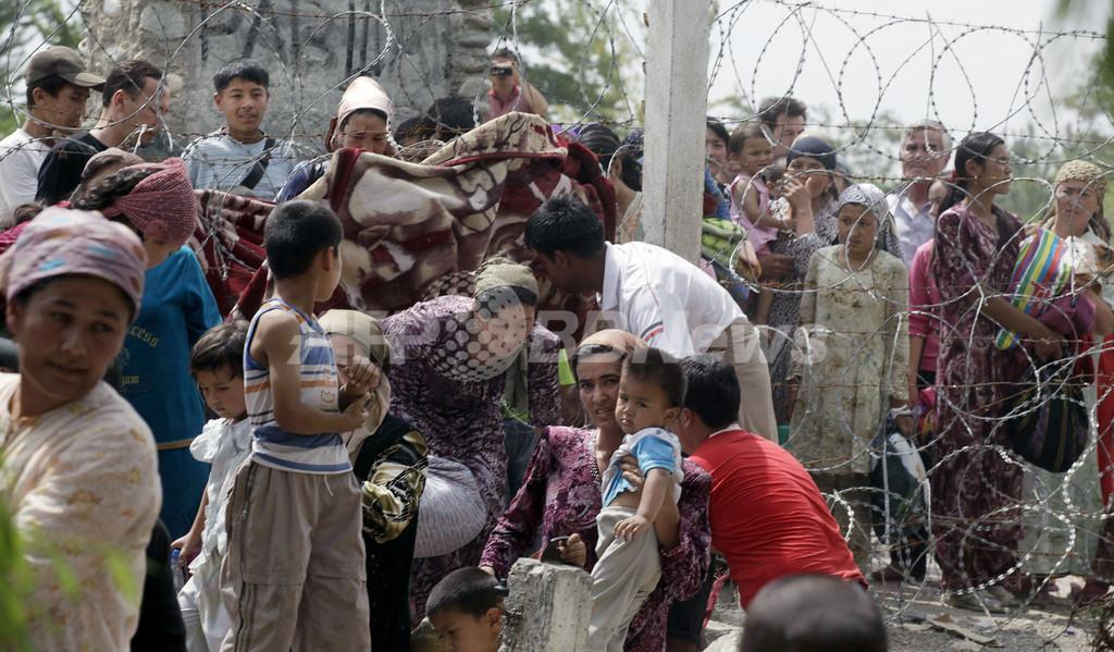 キルギス民族衝突で難民40万人、国連