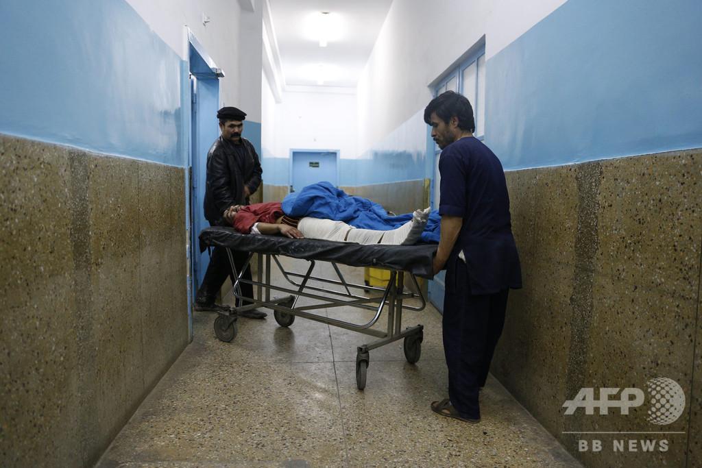 アフガン首都で爆発、10人死亡 英民間警備会社が標的に