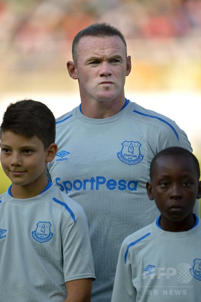 ルーニーがエバートン復帰初戦でゴール、アフリカツアーの親善試合で