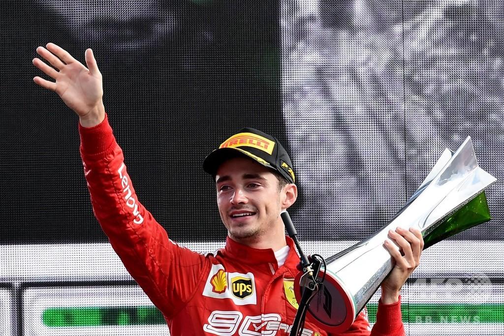 ルクレール2連勝、フェラーリはイタリアGPで9年ぶり優勝