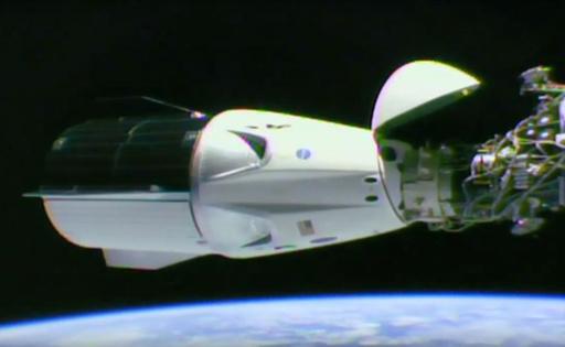 スペースXの宇宙船「ドラゴン」、ISSドッキングに成功 NASA