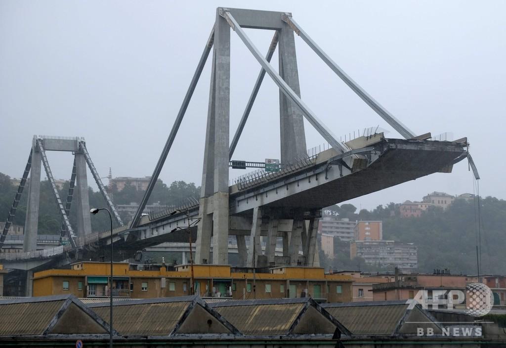 イタリアの橋崩落が浮き彫りにする大きな弊害