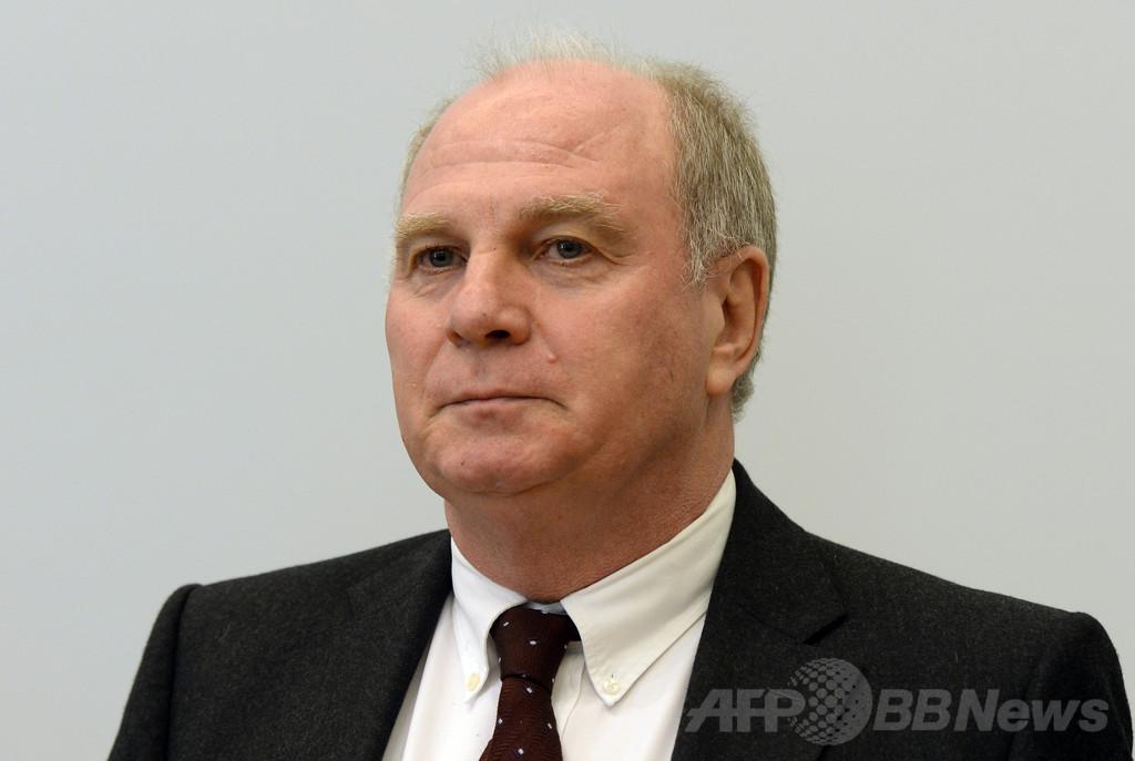 バイエルン会長、脱税で禁錮3年6月の有罪判決
