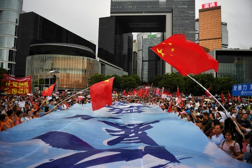 中国、今度はラップで香港デモ批判? 国営メディアに掲載