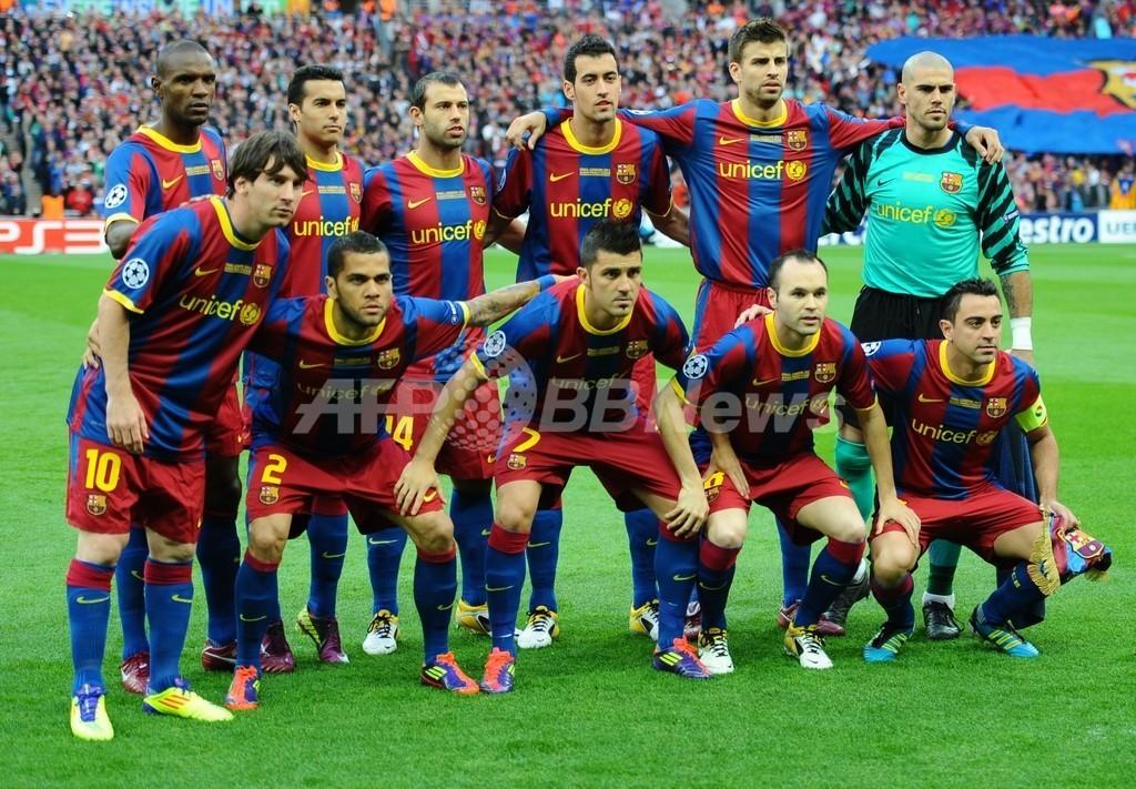 クラブW杯に出場するFCバルセロナ、福島原発事故の被災者に哀悼