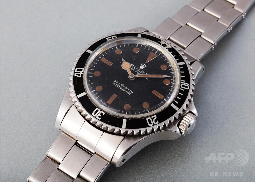 sports shoes dc2c7 36f28 007/死ぬのは奴らだ』の腕時計に4500万円、R・ムーア着用 写真1 ...