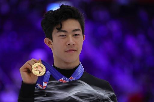 チェンがフィギュア全米選手権3連覇、2位に50点差以上をつける圧勝