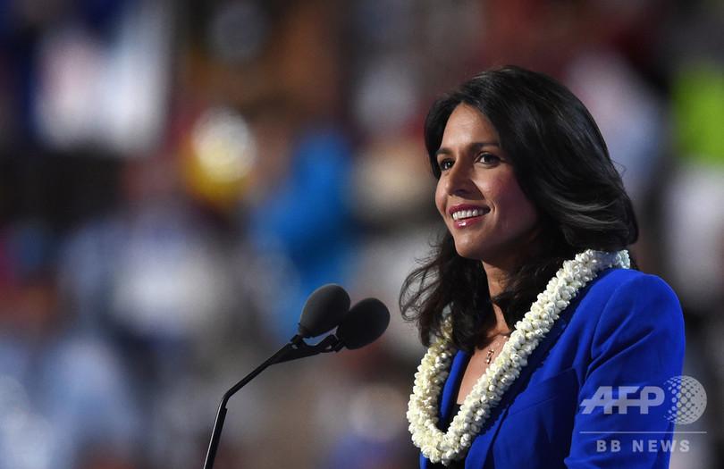ハワイのガバード民主党議員、大統領選出馬へ 当選すれば史上最年少