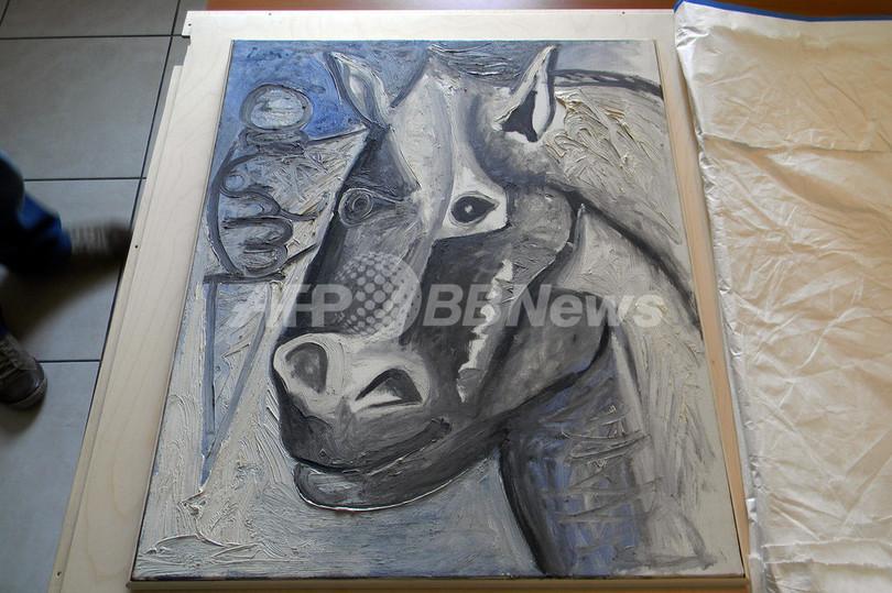 スイスで盗まれたピカソの絵画2点、セルビアで発見