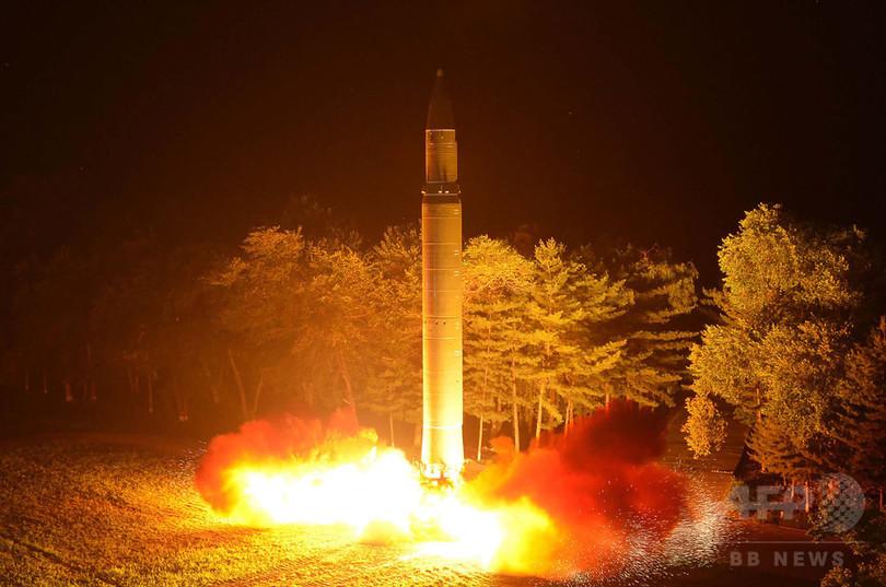 北朝鮮、ICBMを発射 飛距離1000キロ、米国防総省が発表