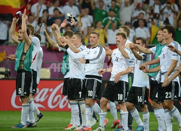 ドイツが3連勝で準々決勝へ、デンマークは敗退 サッカー欧州選手権