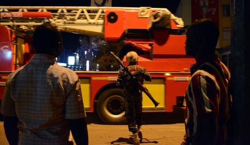 ブルキナファソ首都でホテル襲撃、少なくとも20人死亡
