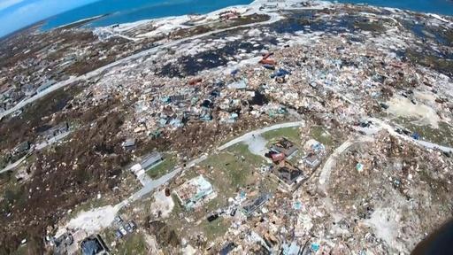 動画:ハリケーン「ドリアン」、バハマに壊滅的被害 死者43人・不明者多数
