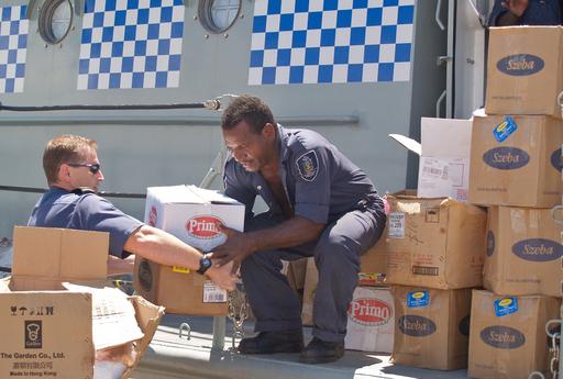 ソロモン諸島地震、待たれる救援物資 - ソロモン諸島