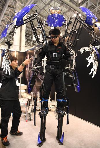 ロボットや恐竜で集客にあの手この手 イベント見本市開催 千葉