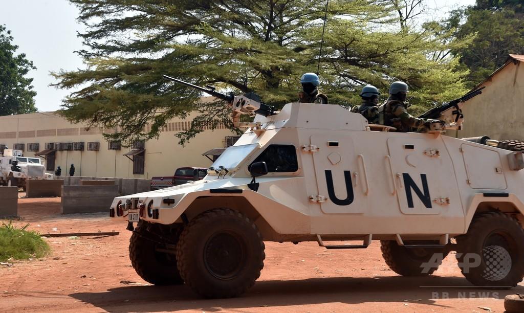 国連PKO要員、新たな少女暴行疑惑 4人被害か 中央アフリカ