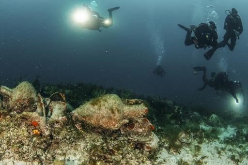 ギリシャ、海中の古代沈没船を一般公開へ 島しょ部の経済活性化狙い