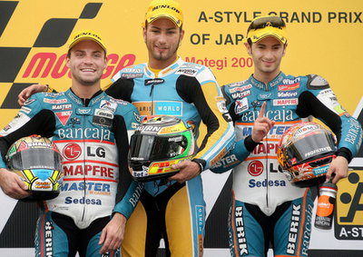 パシーニ 日本GP・125ccクラスを制しシーズン4勝目を挙げる
