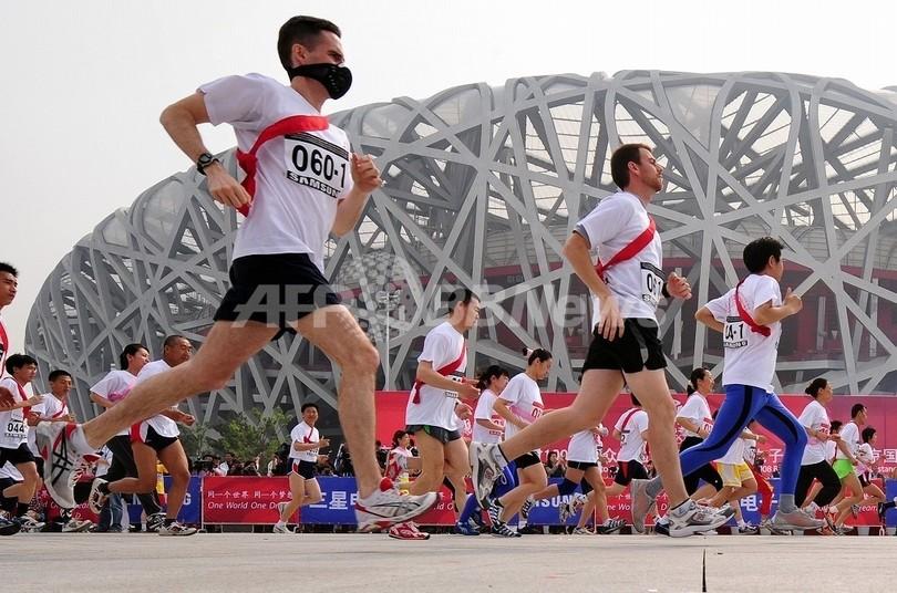 北京五輪の大気汚染問題、米国選手陣は楽観ムード
