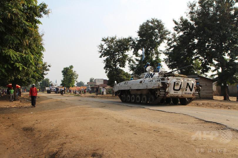 コンゴ民主共和国でPKO要員15人...