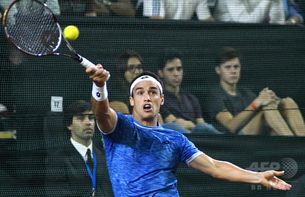 八百長認定されたアルゼンチンのテニス選手、永久追放処分に直面