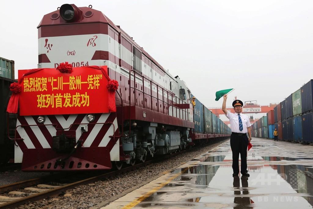 韓国─中国─ASEANを結ぶ船車連絡列車が開通