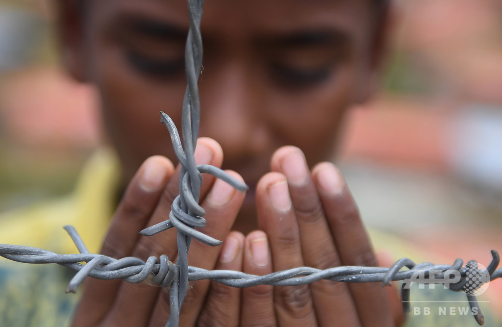 ミャンマー、ロヒンギャ「大量虐殺」に関する国連調査報告を否定